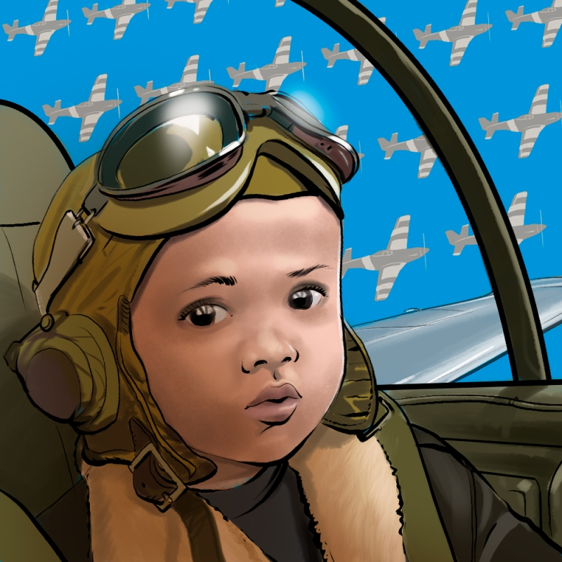 Toddler Portrait: Aviator
