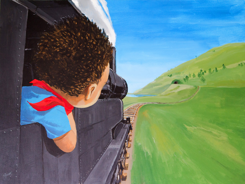 The Kid & The Train.