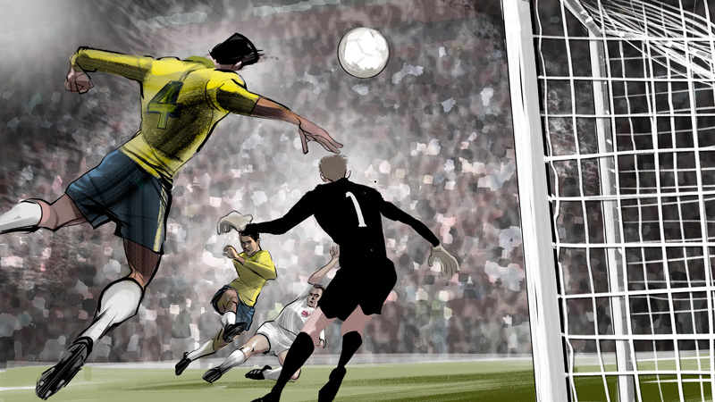 1962 World Cup: Zito's Header