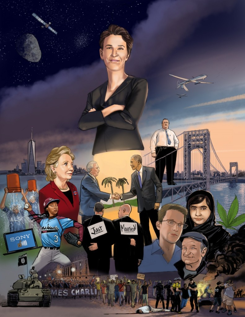 Rachel Maddow and the Year 2014